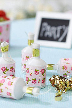 party poppers rose